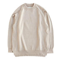 CURLY(カーリー)    AZTEC CREW KNIT   GREGE