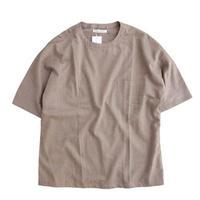 tilt The authentics(チルトザオーセンティックス)   Dolman Sleeve Half T Shirt   BEIGE