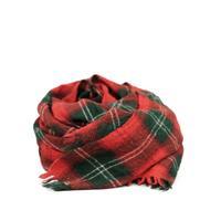 LOCALLY(ローカリー)    Tartn Check Stole    Red/Green