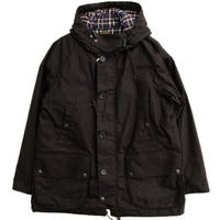 *A VONTADE(アボンタージ)   British Fleld Hooded Jacket  BLACK