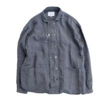 another20thcentury(アナザートゥエンティースセンチュリー)   Bio koch shirt  linen   Charcoal