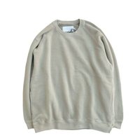 CURLY(カーリー)    FROSTED CREW SWEAT   LT.GRAY