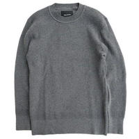 DELICIOUS(デリシャス)   Cotton Sweater   D.GRAY