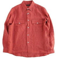 *AVONTADE(アボンタージ)  Safari Shirt   HARVEST RED