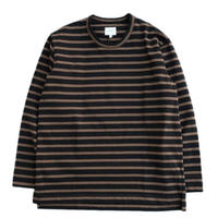 CURLY(カーリー)   SALFORD L/S BORDER TEE