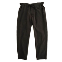 LAMOND(ラモンド)   FRENCH RELAX PANTS  SUMI BLACK