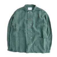 another20thcentury(アナザートゥエンティースセンチュリー)   Bio koch shirt  linen   Viridian