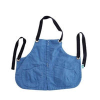 suolo(スオーロ)  GRIZZLY apron boys   BLUE