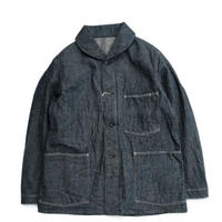 *A VONTADE(アボンタージ)    Shawl Collar Denim Coverall