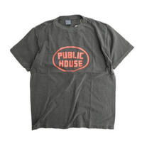 ORDINARY FITS(オーディナリーフィッツ)    PRINT-T  PUBRIC HOUSE   BLACK