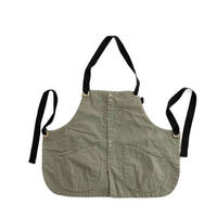 suolo(スオーロ)  GRIZZLY apron boys   OLIVE
