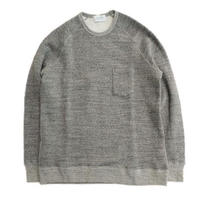 FLISTFIA(フリストフィア)   Crew Neck Sweat  CHARCOAL