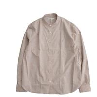 tilt The authentics(チルトザオーセンティックス)   Zephyr Cloth Bandcollar Shirt