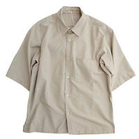 LAMOND(ラモンド)   WIDE SHIRTS    GRAYBEIGE