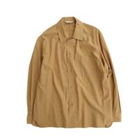 STILLBYHAND(スティルバイハンド)  オープンカラーシャツ  BEIGE