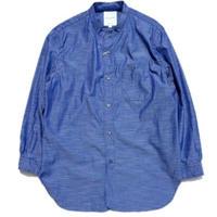 STILL BY HAND(スティルバイハンド)   バンドカラーシャツ  NAVY