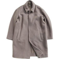 LAMOND(ラモンド)   W.FACE PILE WOOL OVER COAT   GRAYBEIGE