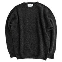 JENNIFER KENT(ジェニファーケント)   シェットランドセーター  CHARCOAL