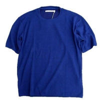 CURLY(カーリー)   CLOUDY HS CREW TEE    NAVYBLUE