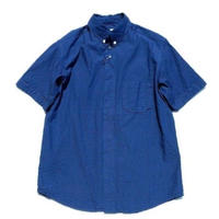 nisica(ニシカ)   ボタンダウンシャツ  INDIGO
