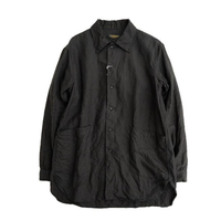 *A VONTADE(アボンター)   Gardener Shirts L/S -Linen-   BLACK