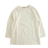 LAMOND(ラモンド)  BASQUE 7分袖 T-shirt  WHITE