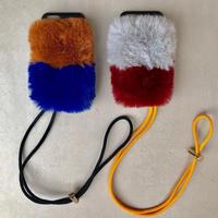 2-layer fur case(iphone7Plus/8Plus共通サイズ)