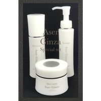 AserGinza 3点セット(クリーム・ローション・ホットマスク)約2−3ヶ月【発売記念スペシャル価格セット(500セット限定)】