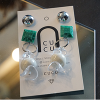 CUCU // ピアス&イヤリング 4way