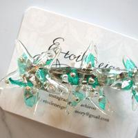 Etoileneige // starfish バレッタ green