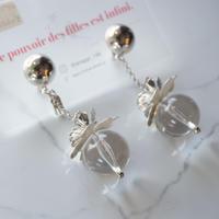 rimiue // ピアス&イヤリング silver