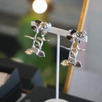 nood / ユーカリフープ silver eucalyptus designed hoop