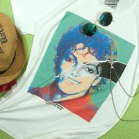 【人生は夢のまた夢★仮面上等!】マイケル・ジャクソンTシャツマイケル・ジャクソンTシャツ【完売しました】【5000円以上で】送料無料 Tシャツ メンズ 半袖 プリントTシャツ メンズ マイケルジャクソ