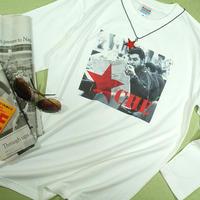 【新聞ゲバラ長袖入荷ぁぁ~】ゲバラ長袖Tシャツチェ・ゲバラの長袖Tシャツ【サイズ:S 、XM (大きめM)、L 、XL 】【5000円以上で】送料無料 Tシャツ メンズ 長袖 ロンT プリント ゲバラ