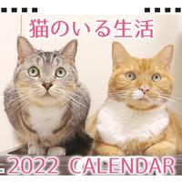 【予約販売】 猫のいる生活 2022年 卓上 カレンダー TC22087