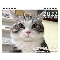 【予約販売】 猫 tansoku_love 2022年 卓上 カレンダー TC22071