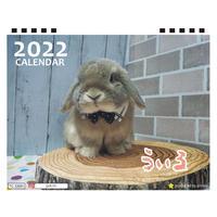 【予約販売】 うさぎのうぃる 2022年 卓上 カレンダー TC22093