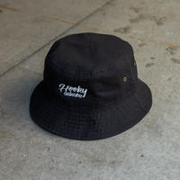 Cafe askate Bucket Hat Black