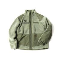askate MAGICNUMBER Reversible Boa Jacket Olive