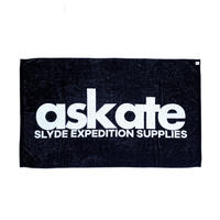 askate Slyde Beach Towel Black