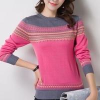 ガーリー カジュアル きれい トレンド 暖色 ニット セーター