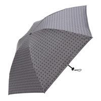 【a.s.s.a】ARM262 スクウェアチェック メンズ晴雨兼用傘 (ブラック・グレー)