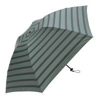 【a.s.s.a】ARM263 パネルボーダー メンズ晴雨兼用傘 (グリーン・ブラック)