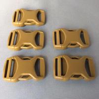 NIFICO サイドリリースバックル25mm SRGM-25ダークタン色  5個セット(送料込)