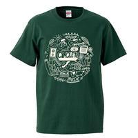 CIRCLE'18  T-Shirts (アイビーグリーン)