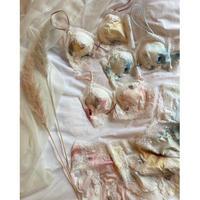 flower soft  brassiere set