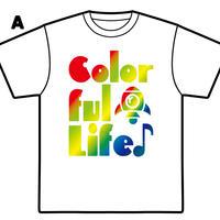 YURAサマ Colorful Life Tシャツ