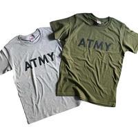 Tシャツ / ATMY(グレー/カーキ/ホワイト)