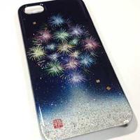iPhone5/5Sケース 花火・終演
