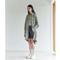 Li/C TWILL LONG SHIRTS COAT